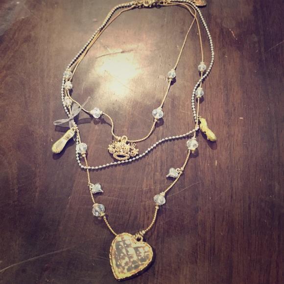 Betsey Johnson Jewelry - Betsey Johnson layered necklace